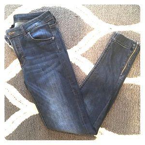 H&M zipper leg jeggings